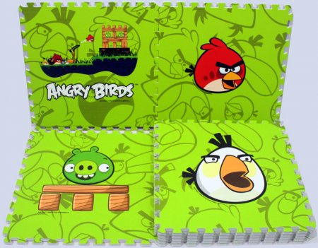 Angry hijau