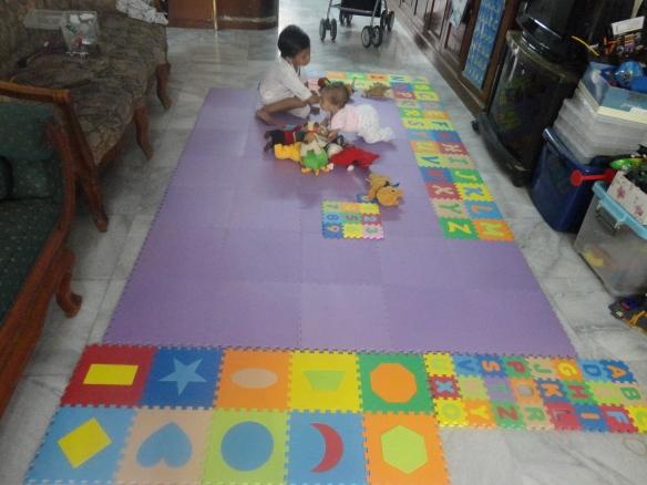 playmat puzzle evamatic