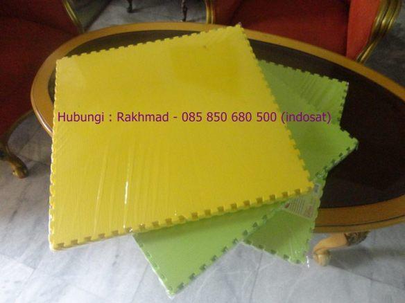 evamat polos 60x60 kuning hijau