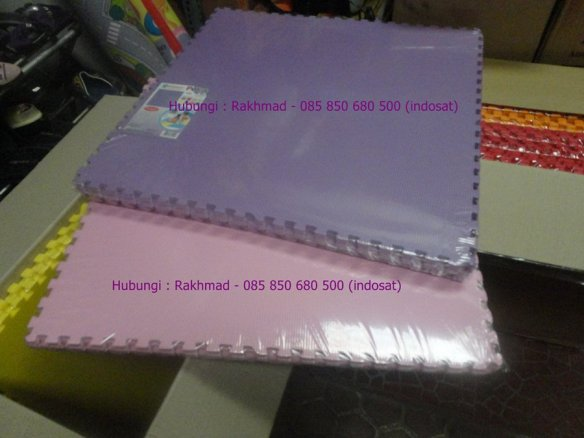 evamat polos 60x60 pink ungu